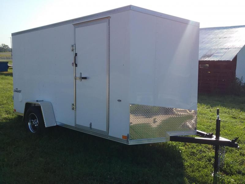 6x12 Formula Conquest Enclosed Trailer