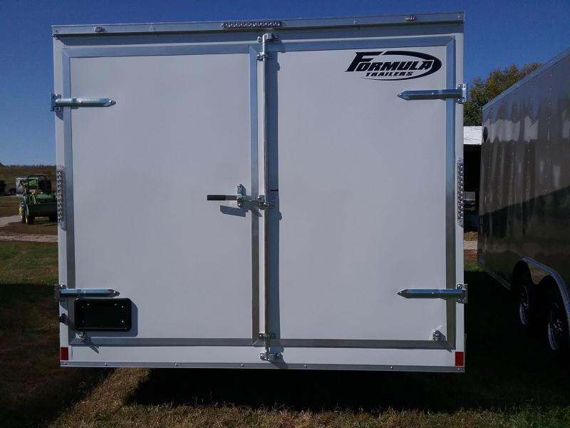 8.5x16 Formula Conquest with Barn Doors