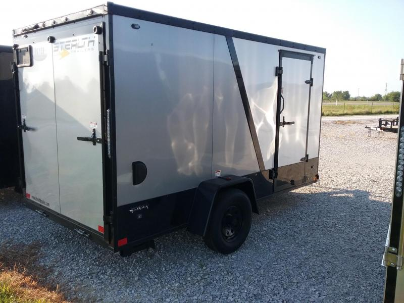 6x12 Stealth Titan Enclosed Trailer with Blackhawk Package