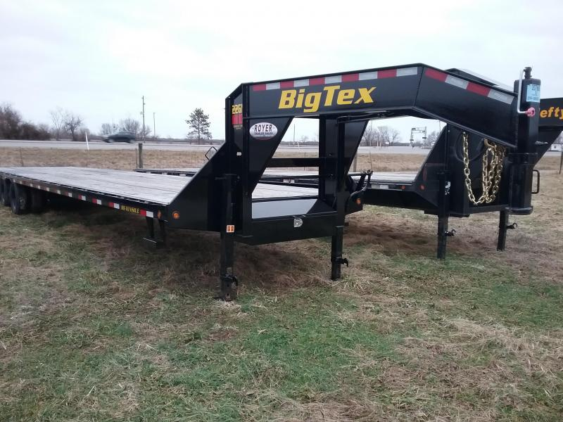 2020 Big Tex Trailers 40' GN Flatbed Trailer **PRICE REDUCED $11290.00**