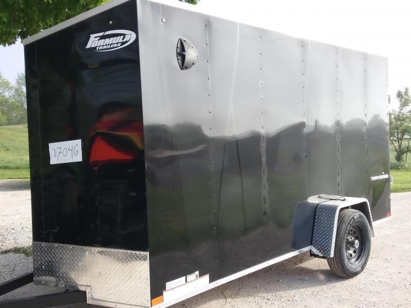 2021 Formula Traverse Enclosed Cargo Trailer