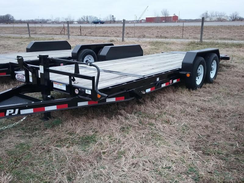PJ 20' Tilt Trailer with 16' Tilt Deck