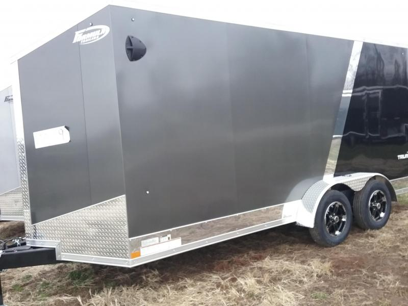 """7x16 (+12"""" Additional Height) Formula Triumph with Aluminum Wheels and RV Handle"""