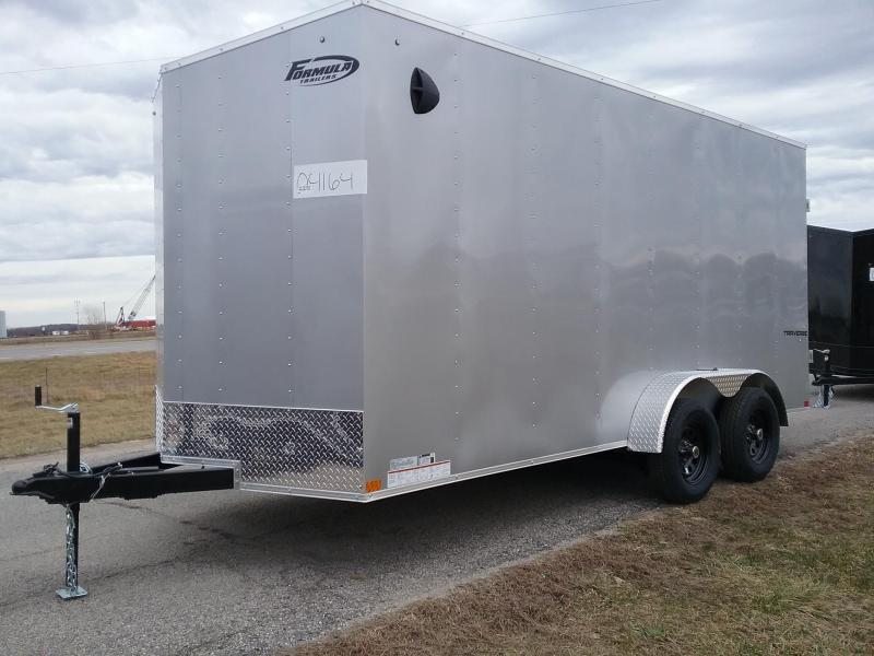 "2020 Formula 7x16 +12"" Height Enclosed Cargo Trailer"