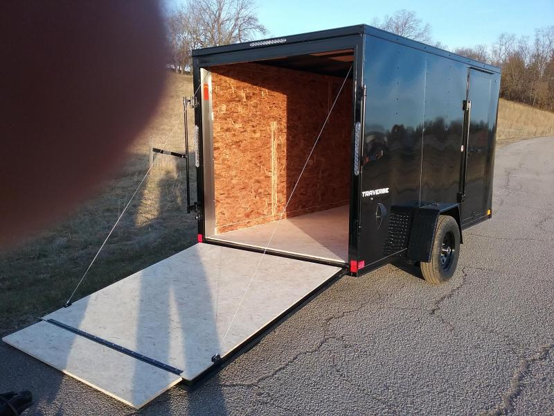 2020 Formula Traverse 6x12 Black Out Enclosed Cargo Trailer