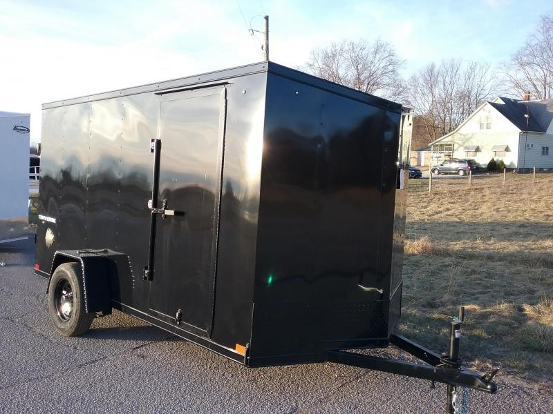 2020 Formula Traverse 6x12 Black Out Enclosed Cargo Trailer