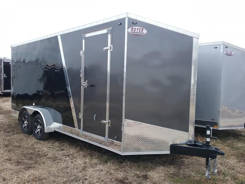 "2020 Stealth Trailers Titan 7x18 +12"" Height Enclosed Cargo Trailer"