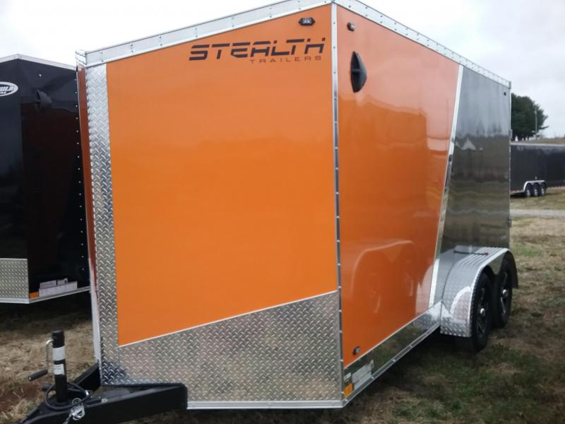 "7x16 (+6"" Additional Height) Stealth Titan Enclosed Trailer"