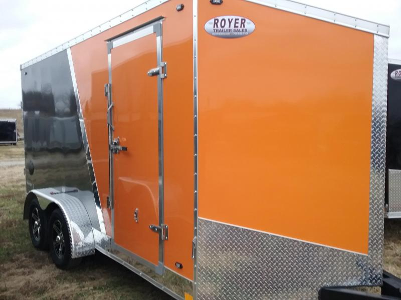 """7x16 (+6"""" Additional Height) Stealth Titan Enclosed Trailer"""