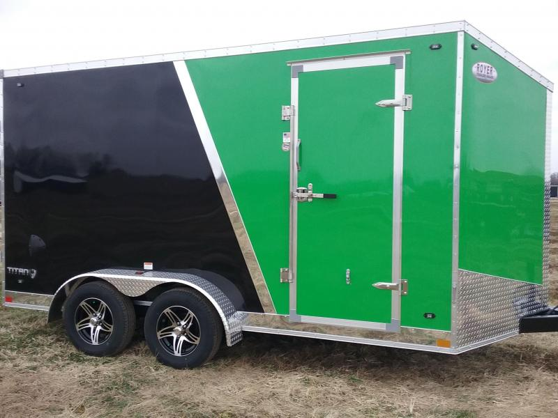 "7x14 (+12"" Additional Height) Stealth Titan Enclosed Trailer"