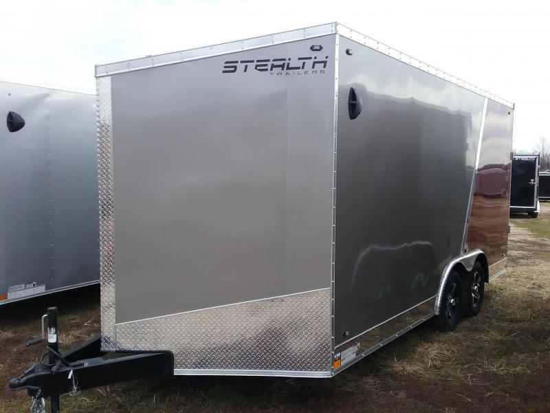 "2020 Stealth Trailers Titan 8.5x16 +6"" w/Flash Package Enclosed Cargo Trailer"