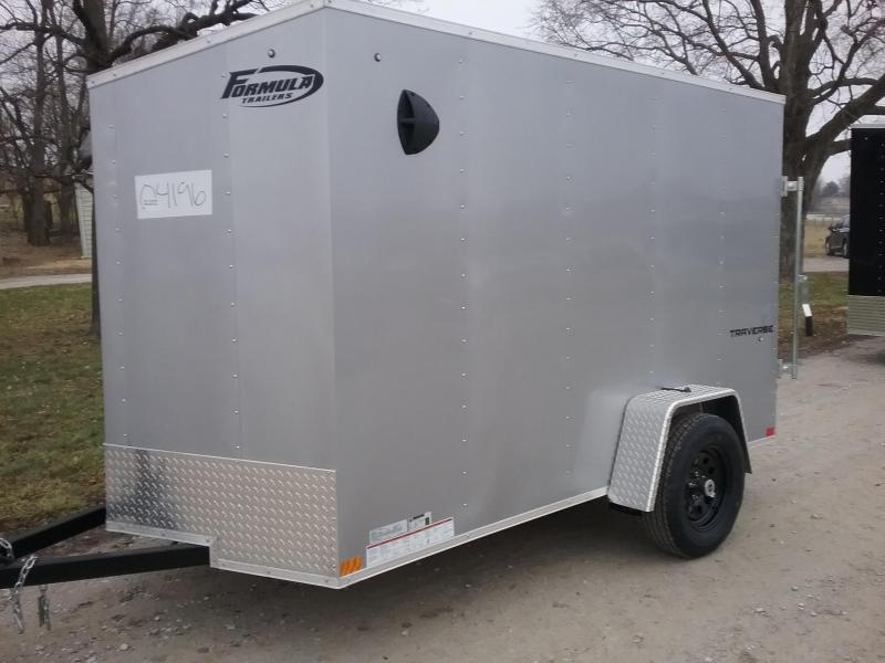 6x10 Formula Traverse Enclosed Trailer