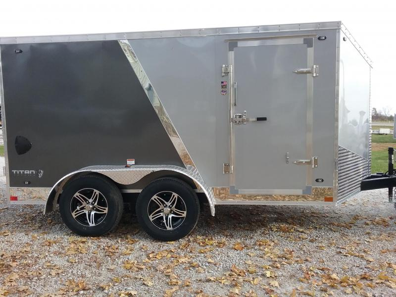 7x12 Stealth Titan Enclosed Cargo Trailer
