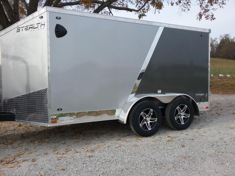 7x12 Stealth Titan Enclosed Cargo Trailer