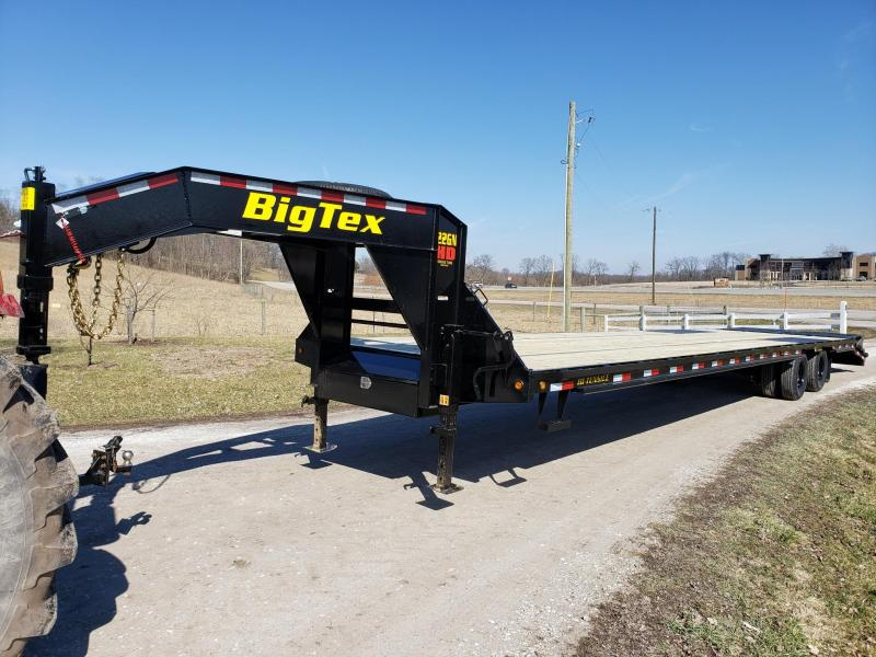 2020 Big Tex Trailers 22GN 35+5 W/Mega Ramps Flatbed Trailer