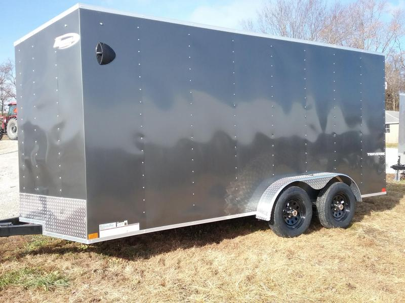 "7x16 (+12"" Additional Height) Formula Traverse Cargo Trailer"