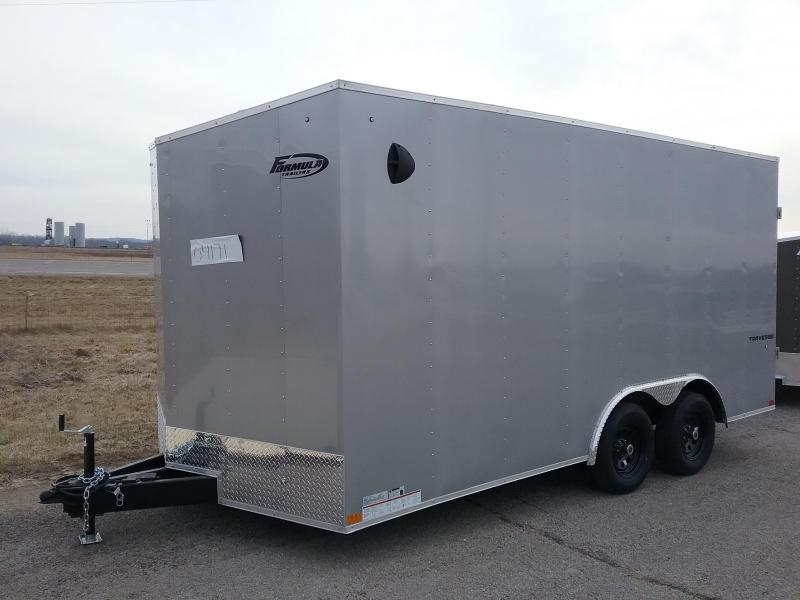 "2021 8.5x16 (+6"" Additional Height) Formula TRAVERSE Enclosed Cargo Trailer"