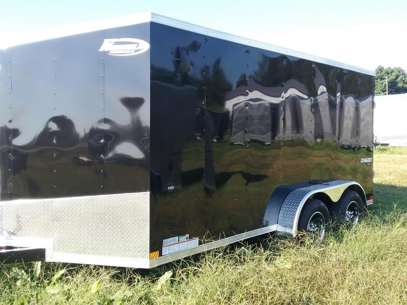 7x14 Formula Conquest Enclosed Cargo Trailer