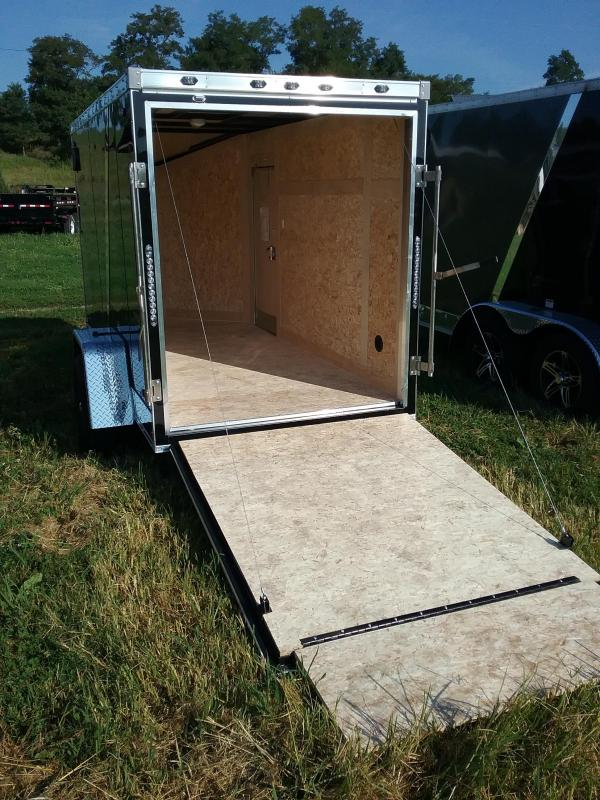 """5x10 (+6"""" Additional Height) Stealth Titan with 24"""" Side Door"""