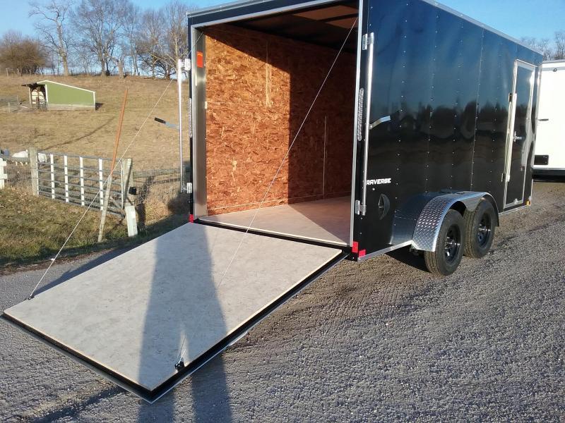 "2020 Formula 7X16 +12"" Traverse Enclosed Cargo Trailer"