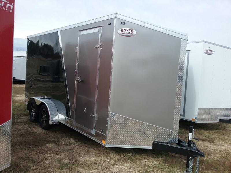 "2020 Stealth Trailers Titan 7x16 +12"" Height w/Flash Pkg Enclosed Cargo Trailer"