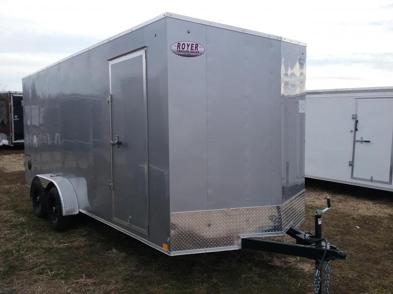 "2020 Formula Traverse 7x18 +12"" Height Enclosed Cargo Trailer"