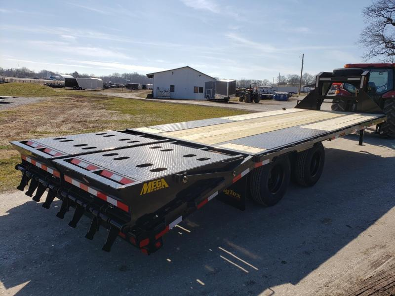 2020 Big Tex Trailers 22GN 20+5 W/Mega Ramps Flatbed Trailer