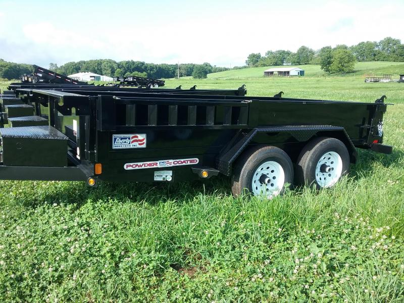 LIBERTY 10K 72X12 DUMP TRAILER **PRICE REDUCED**