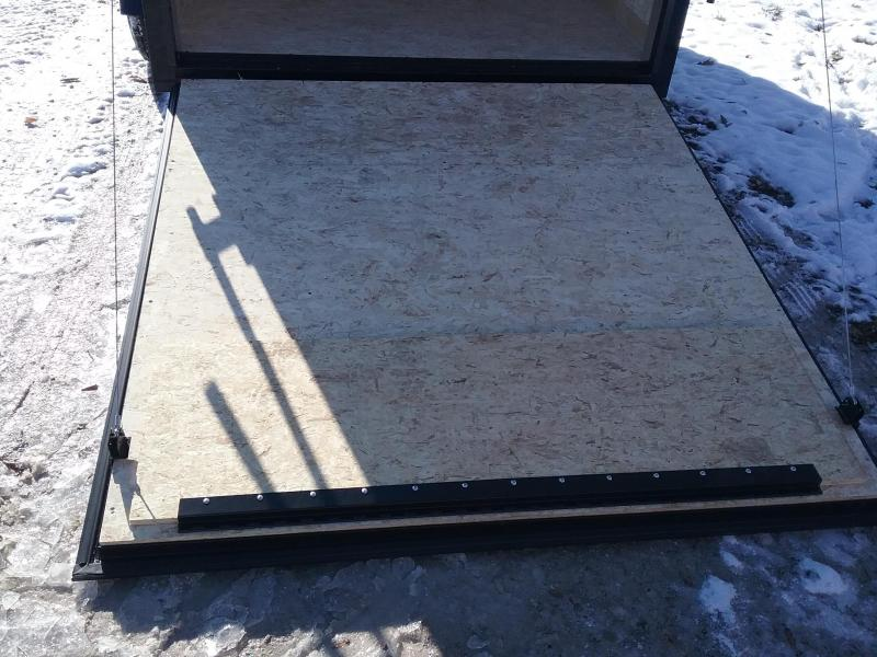 6x12 Stealth Titan Enclosed Cargo Trailer with Blackout Package