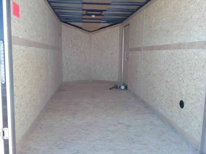 """7x12 (+12"""" Additional Height) Stealth Titan Enclosed Cargo Trailer"""
