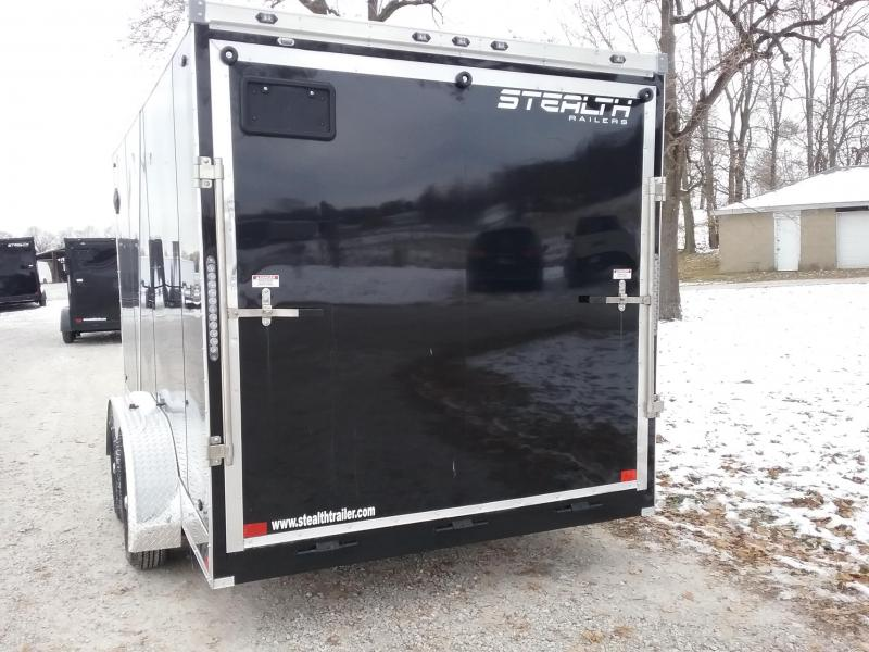 "7x14 (+6"" Additional Height) Stealth Titan Cargo Trailer"