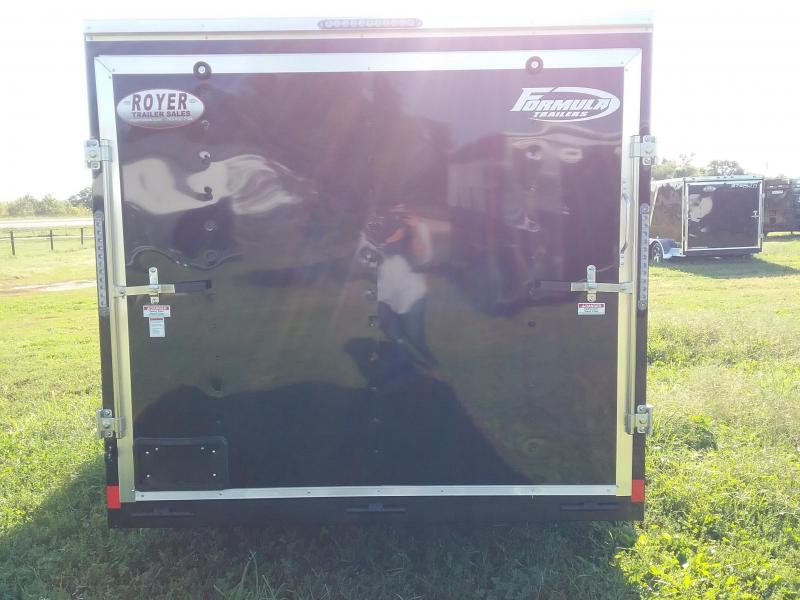 7x16 Formula Conquest Enclosed Cargo Trailer