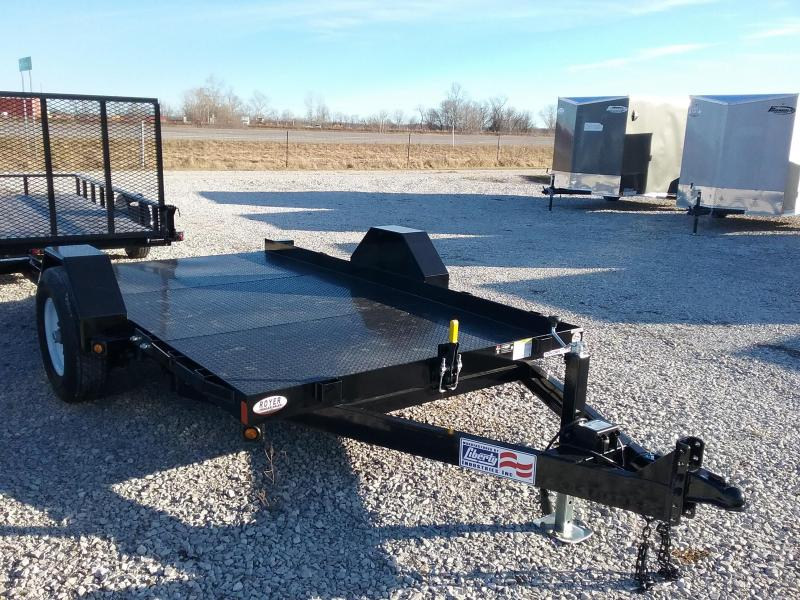 "2020 Liberty 79""x12' Scissor Lift 7K Equipment Trailer"