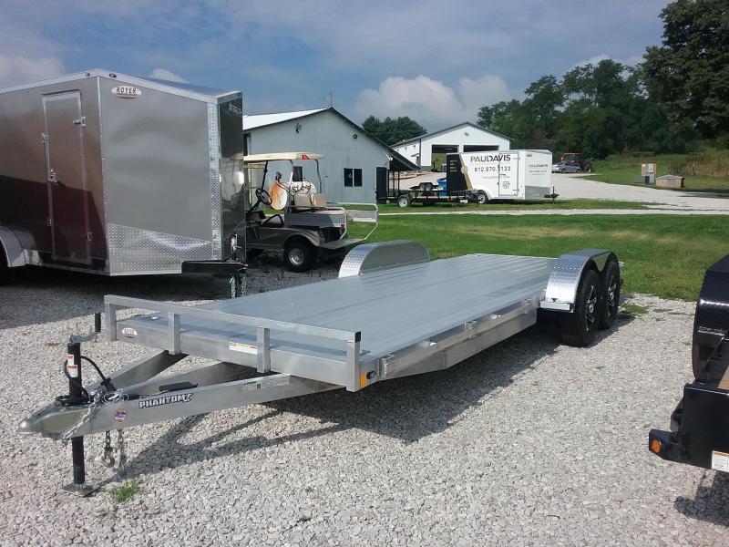 7X20 Stealth Phantom I Aluminum Car / Racing Trailer