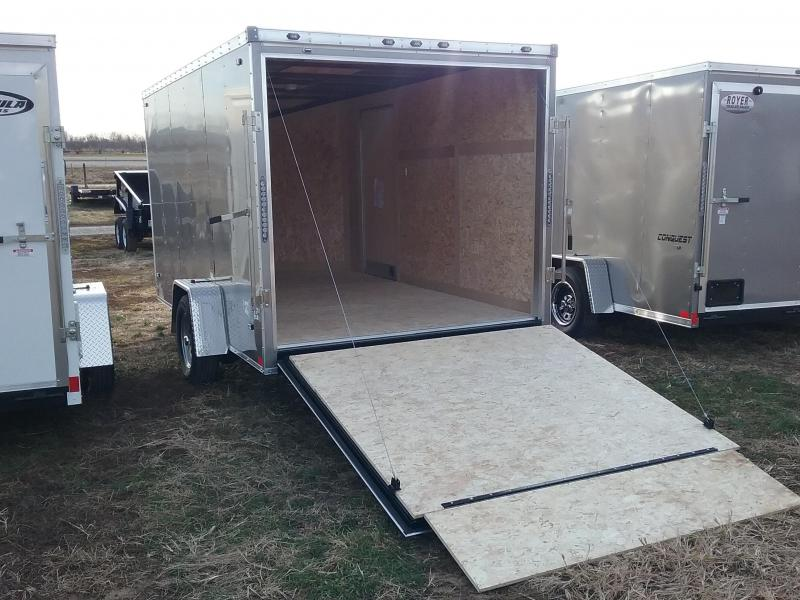 2020 Stealth Trailers 7x12 Mustang Enclosed Cargo Trailer
