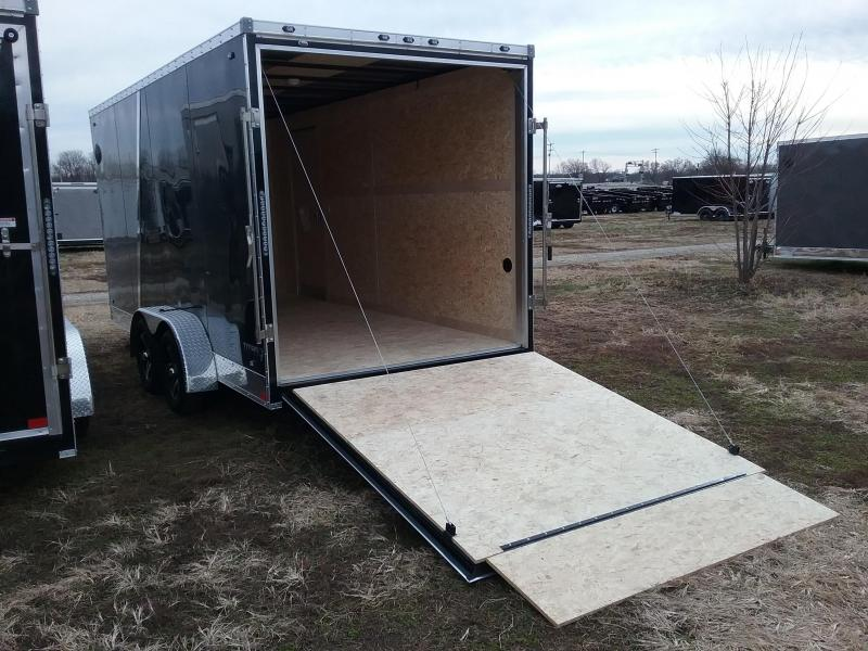 "2020 Stealth Trailers Titan 7x16 +12"" Height w/Flash Pkg Enclosed Cargo Trailer"