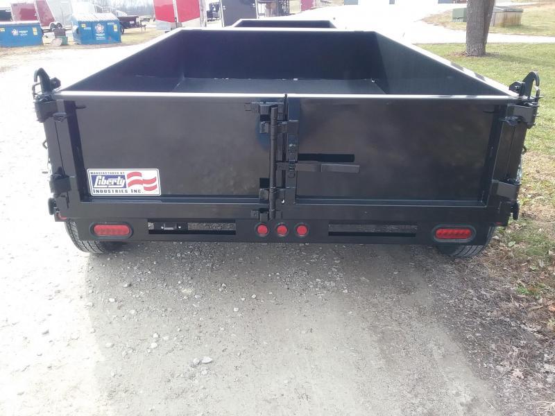 6x10 Liberty Dump with Heavy Duty Combo Gate