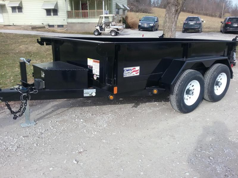 6x10 Liberty Dump with Heavy Duty Combo Gate