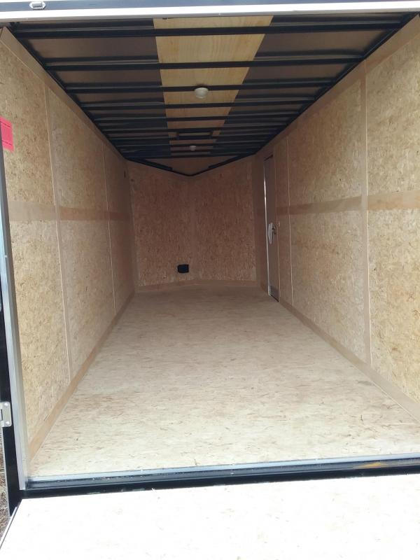 "2020 Stealth Trailers Titan 7x20 +12"" w/Flash Package Enclosed Cargo Trailer"