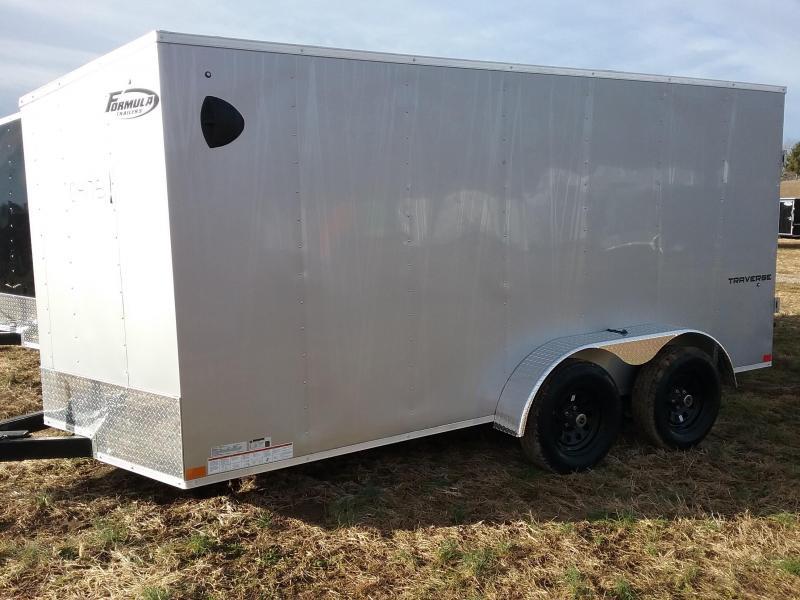 2020 Formula Traverse Enclosed Cargo Trailer