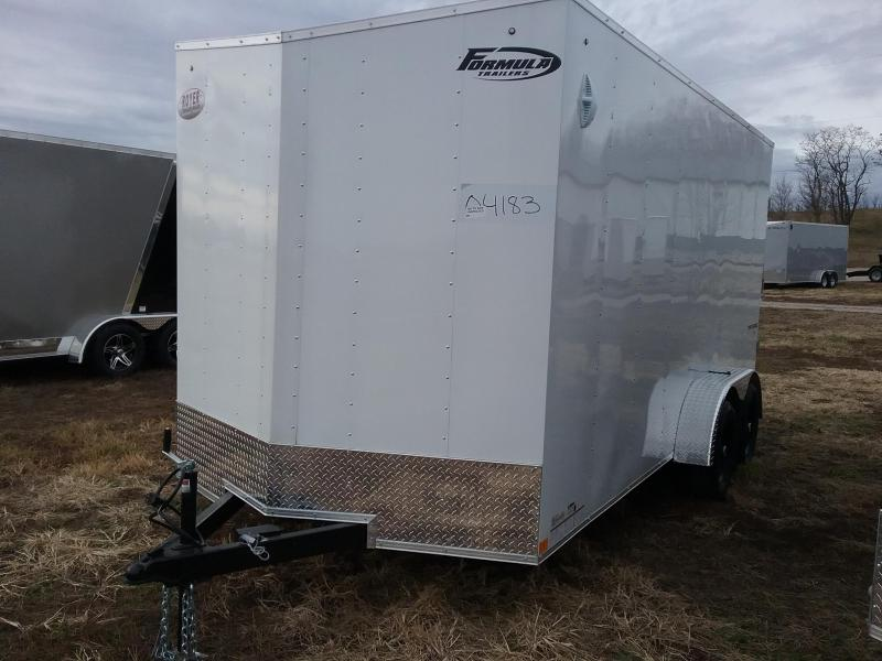 "2020 Formula Traverse 7x16 +12"" Height Enclosed Cargo Trailer"