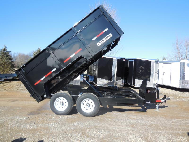 2020 Bri-Mar DT712LP-LE-12H Dump Trailer