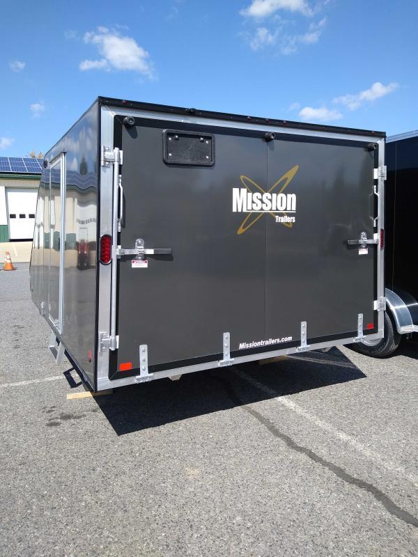 2020 Mission MFS101X12 Snowmobile Trailer