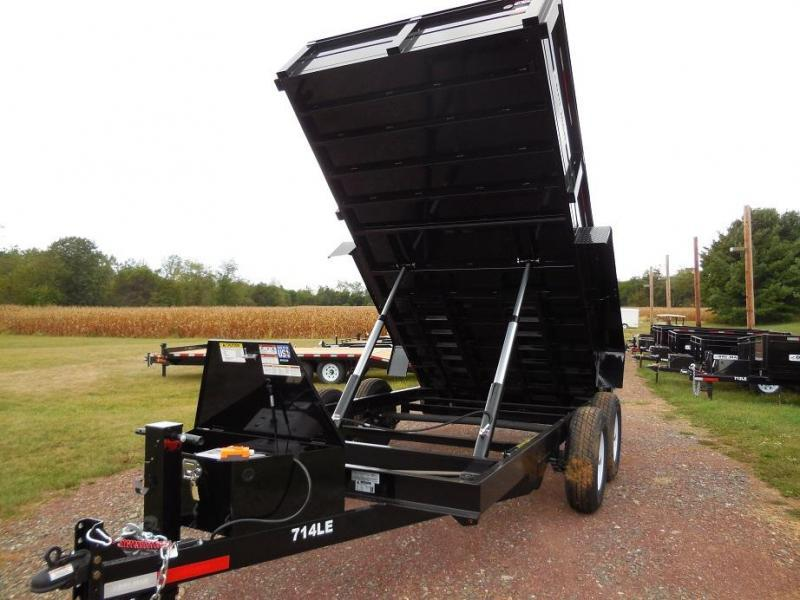 2020 Bri-Mar DT714LP-LE-14 Dump Trailer