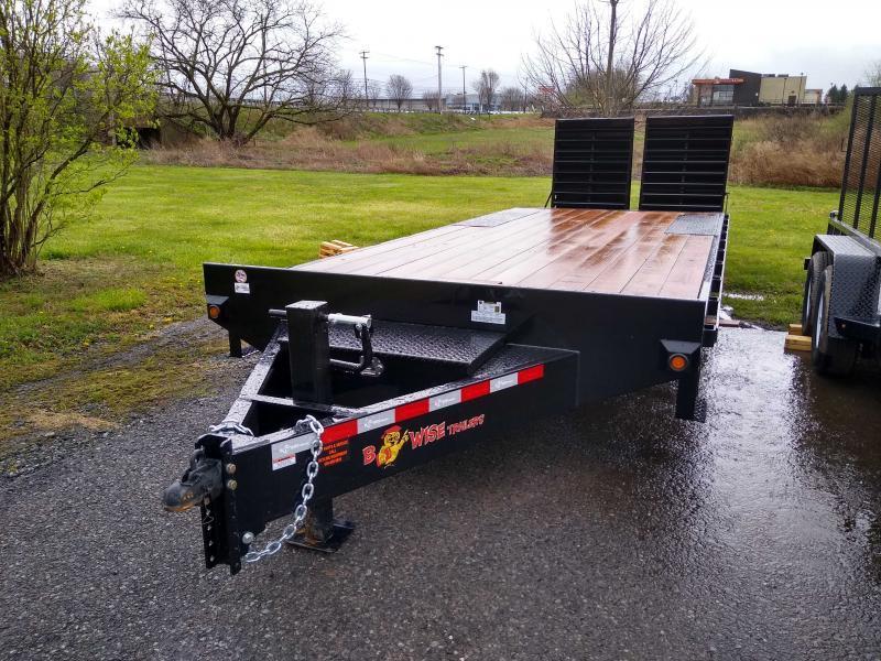 2020 B-Wise EDB24-15 Equipment Trailer