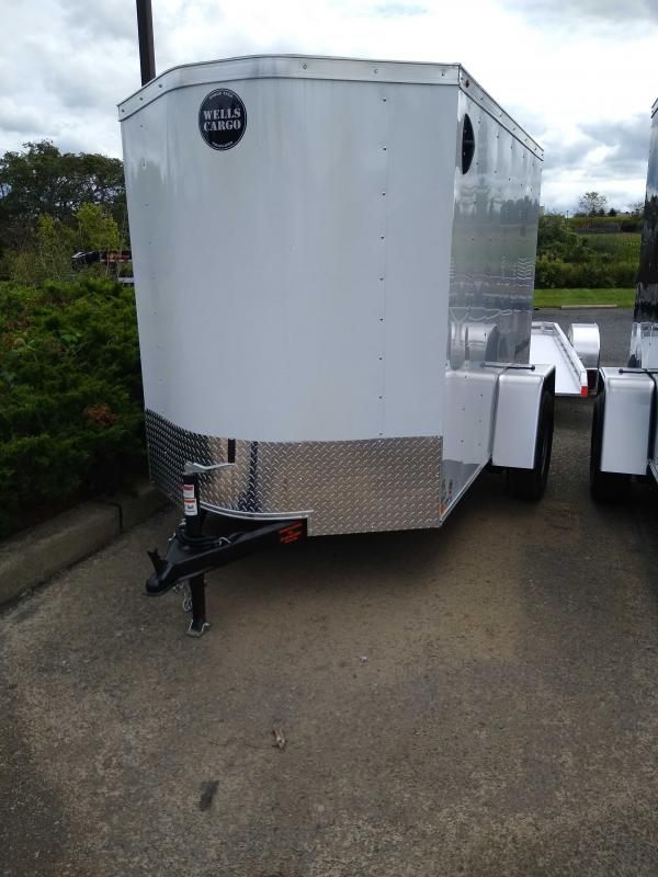 2020 Wells Cargo FT58S2 Enclosed Cargo Trailer