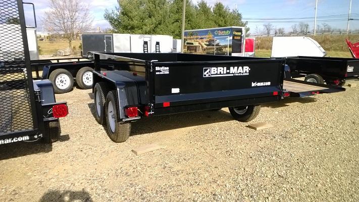 2020 Bri-Mar DTR610LP-7 Dump Trailer