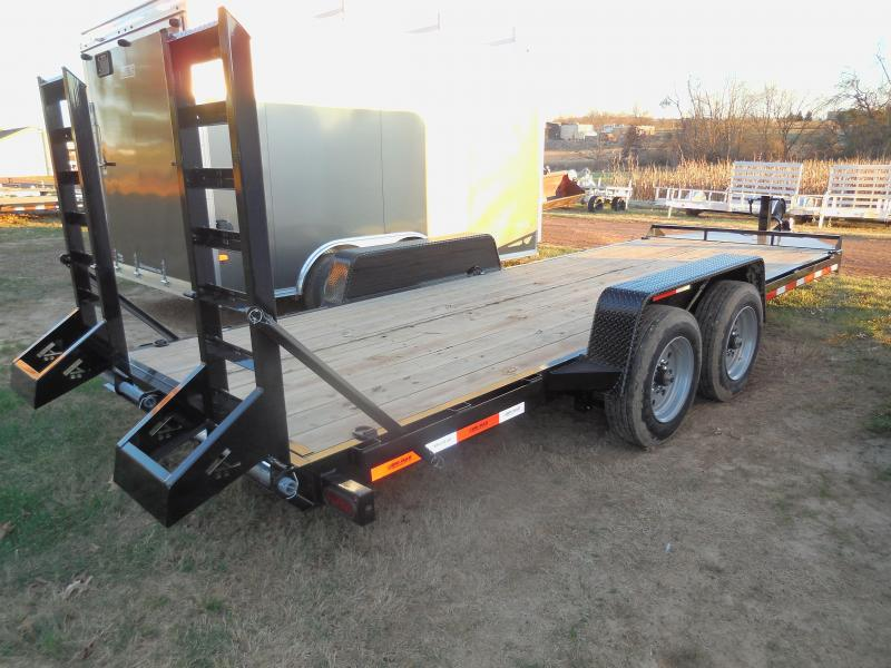2020 Bri-Mar EH20-16HD Equipment Trailer