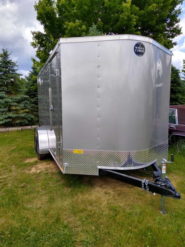 2020 Wells Cargo FT714T2-D Enclosed Cargo Trailer