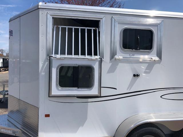 2019 Frontier Strider Series Combo/Slant 2 Horse Trailer
